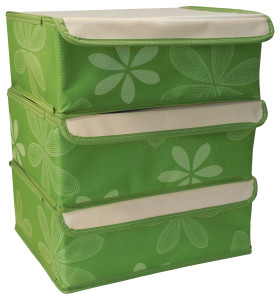 Green Fabric Drawer Organizer