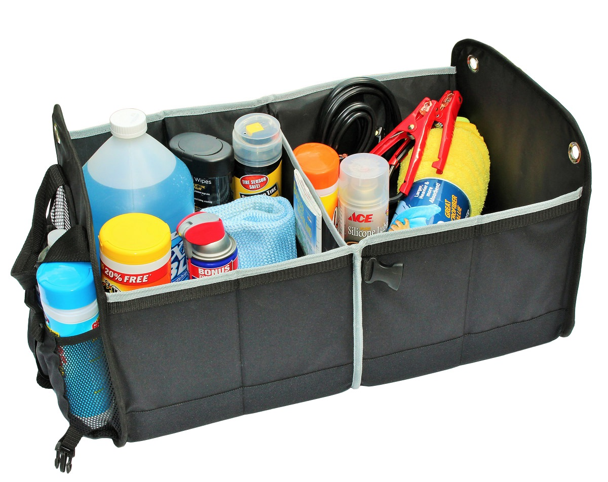 Auto Accessories in Cargo Trunk Storage
