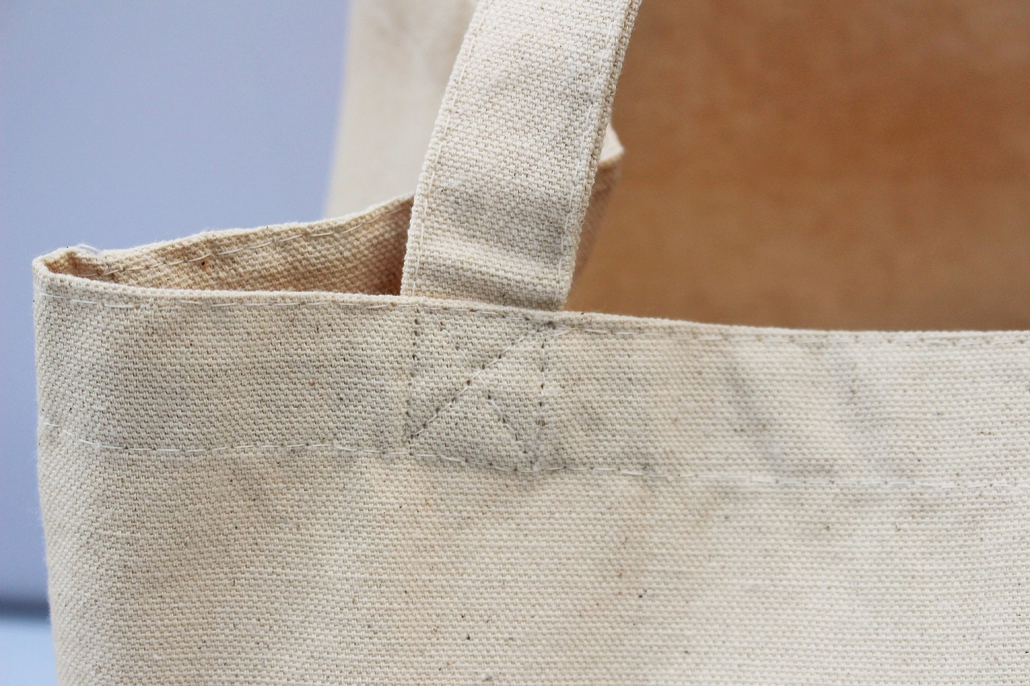 Closeup of Cotton Tote