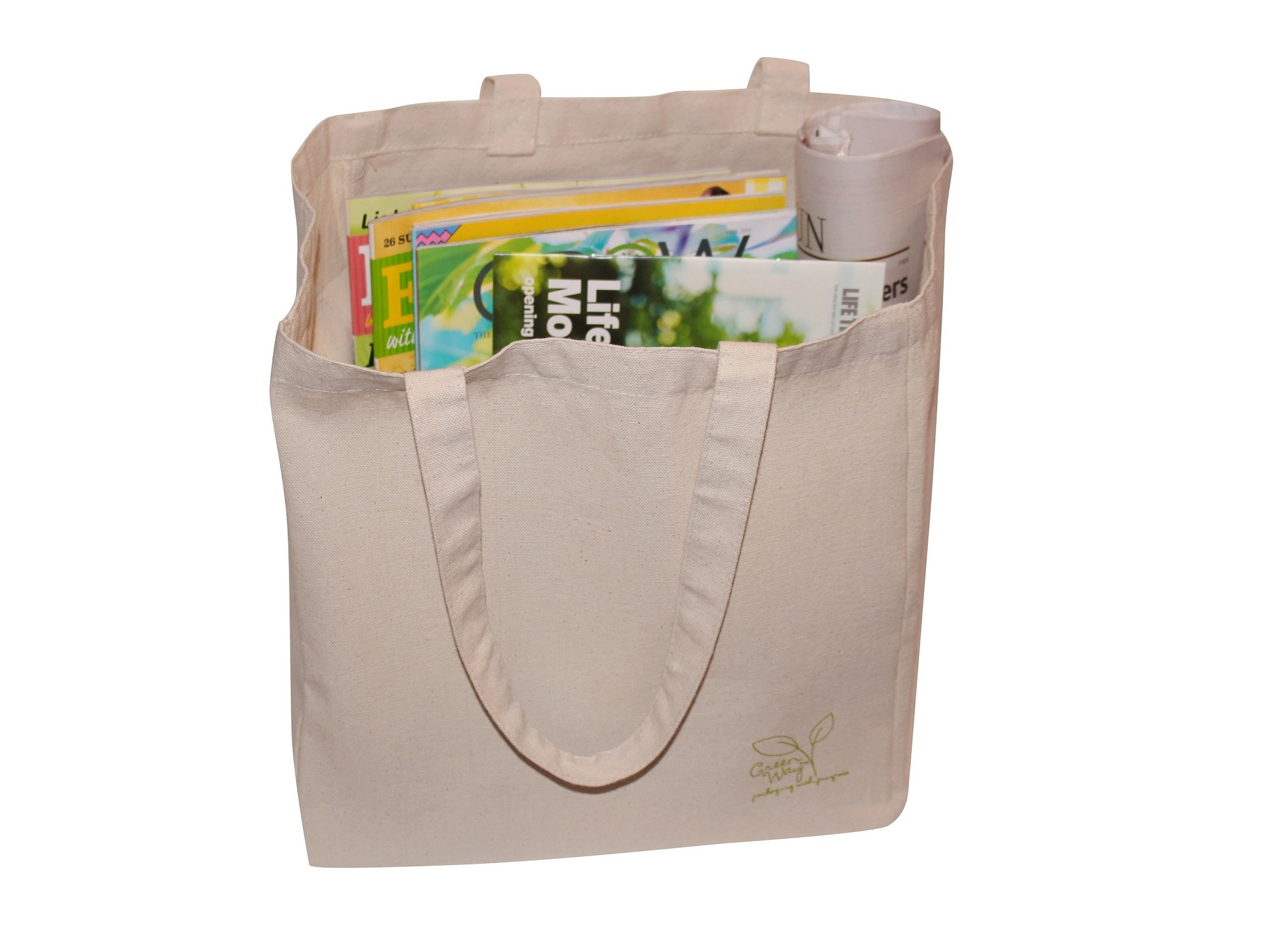 Canvas Bag with Books
