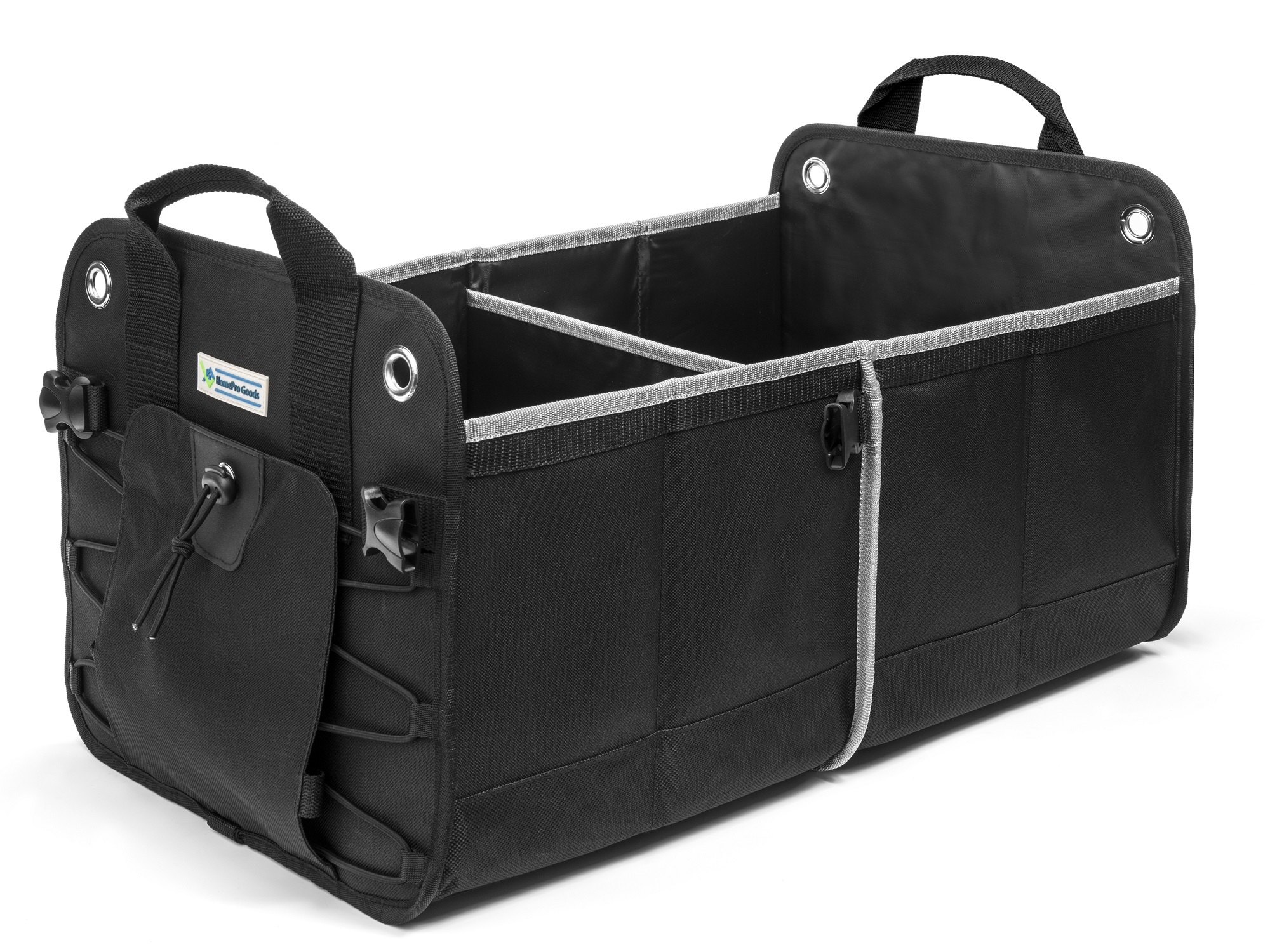 HomePro Goods Car Trunk Organizer shown on white background
